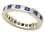 Karina B™ Genuine Sapphire Eternity Band style: 8043S