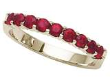 Karina B™ Genuine Ruby Band style: 8065R