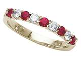 Karina B™ Genuine Ruby Band style: 8066R