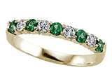 Karina B™ Diamond and Tsavorite Band