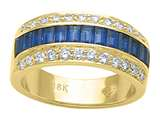 Karina B™ Genuine Sapphire Band style: 8068S