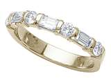 Karina B™ Baguette Diamonds Band style: 8070