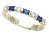 Karina B™ Genuine Sapphire Band style: 8070S