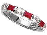Karina B™ Genuine Ruby Band style: 8071R