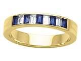 Karina B™ Genuine Sapphire Band style: 8095S
