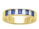 Karina B™ Genuine Sapphire Band style: 8096S