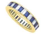 Karina B™ Sapphire Eternity Band style: 8097S
