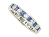Karina B Genuine Sapphire Eternity Band