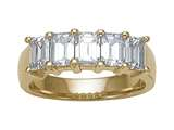 Karina B™ Emerald Cut Diamonds Band style: 8122