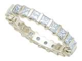 Karina B™ Princess Diamonds Eternity Band style: 8124