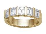 Karina B Emerald Cut Diamonds Band