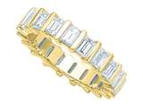 Karina B™ Emerald Cut Diamonds Eternity Band