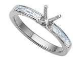 Karina B™ Baguette Diamonds Engagement Ring style: 8127