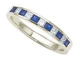 Karina B™ Genuine Sapphire Band style: 8129S