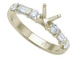 Karina B™ Baguette Diamonds Engagement Ring style: 8134