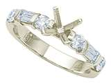 Karina B™ Baguette Diamonds Engagement Ring style: 8135