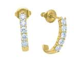 Karina B™ Round Diamonds Earrings style: 8139