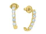 Karina B™ Round Diamonds Earrings style: 8140