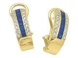 Karina B™ Sapphire Earrings style: 8146S