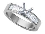 Karina B™ Baguette Diamonds Engagement Ring style: 8151