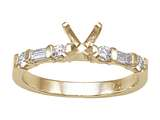 Karina B™ Baguette Diamonds Engagement Ring style: 8158