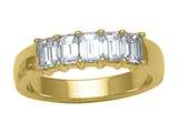 Karina B™ Emerald Cut Diamonds Band style: 8161