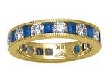 Karina B™ Sapphire Eternity Band style: 8185S