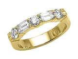 Karina B™ Emerald Cut Diamonds Band style: 8216