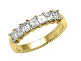 Karina B™ Princess and Baguette Diamonds Band style: 8226