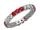 Karina B™ Ruby Eternity Band style: 8266R
