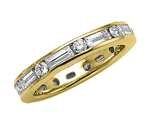 Karina B™ Baguette and Round Diamonds Eternity Band