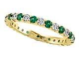 Karina B™ Tsavorite Eternity Band