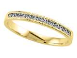 Karina B™ Round Diamond Band With Milgrain style: 8301