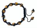 Adjustable Genuine Tiger Eye hread Bracelet