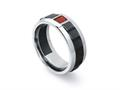 Tonino Lamborghini Primo Collection Stainless Steel Ring
