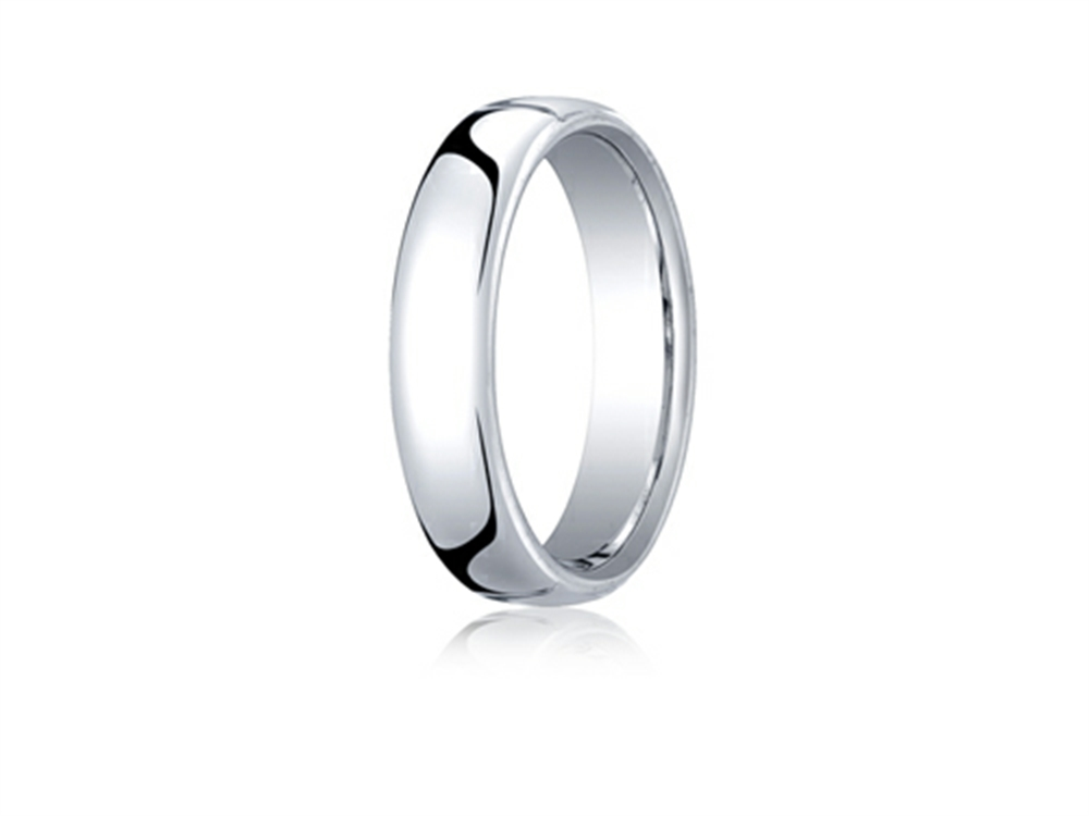 rings ring fit comfort rose beveled brushed edge gold tungsten