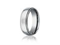 Benchmark® 7mm Comfort Fit Titanium Wedding Band / Ring