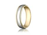 <b>Engravable</b> Benchmark® 6mm Comfort Fit Wedding Band / Ring style: CF1560814KWY