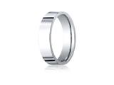 <b>Engravable</b> Benchmark® Palladium 6.0mm Flat Comfort-fit Ring style: CF260PD