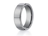 <b>Engravable</b> Benchmark® 7mm Comfort Fit Tungsten Carbide Wedding Band / Ring style: CF270TG