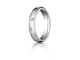 <b>Engravable</b> Benchmark® 4mm Round Diamonds Eternity Band style: CF514131