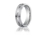 <b>Engravable</b> Benchmark® 6mm Comfort Fit 0.36 cttw Diamond Wedding Band / Ring style: CF526533