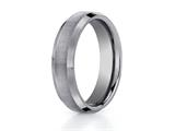 Benchmark® 6mm Comfort Fit Tungsten Carbide Wedding Band / Ring style: CF66416TG