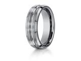 Benchmark® 7mm Comfort Fit Tungsten Carbide Wedding Band / Ring style: CF67439TG