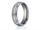 Benchmark 6mm Comfort Fit Tungsten Carbide Wedding Band / Ring Style number: CF56411TG