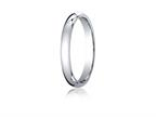 Benchmark 10k Gold 3mm Slightly Domed Standard Comfort-fit Ring Style number: LCF13010K
