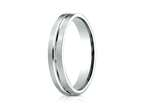 Benchmark 4mm Comfort Fit Wedding Band / Ring Style number: PTCF64411P