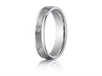 Benchmark 4mm Comfort Fit Diamond Wedding Band / Ring Style number: RECF514140