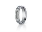 Benchmark 6mm Comfort Fit Titanium Wedding Band / Ring Style number: TI560