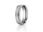 Benchmark 6mm Comfort Fit Titanium Wedding Band / Ring Style number: TI561